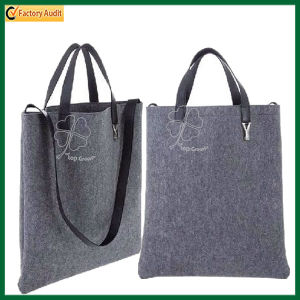 Felt Bag for Business Men Felt Tote Bags Shoulder Bag (TP-SP424) pictures & photos