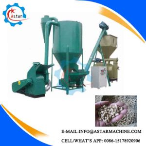 in Africa 500kg/H to 1000kg/H Small Animal Poultry Feed Line pictures & photos