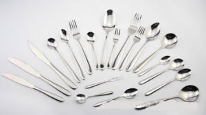 Mirror Polished Stainless Steel Cutlery Tableware (C014) pictures & photos