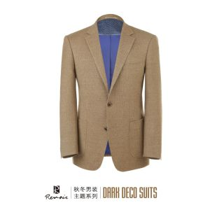 OEM 2017 Classic Fit Woolen Men′s Blazer pictures & photos