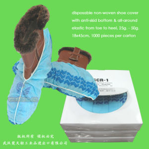 Disposable Anti-Slip Shoe Cover pictures & photos