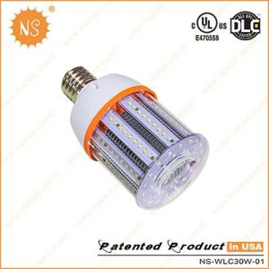 UL Dlc VDE Listed 4500lm IP54 E27 E40 30W LED Corn Light pictures & photos