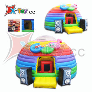 2014 New Design Music Inflatable Bouncy House (CH-IB6050)