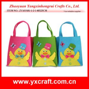 Easter Decoration (ZY16Y681-1-2-3) Easter Chick Corporate Gifts Fashion Bag pictures & photos