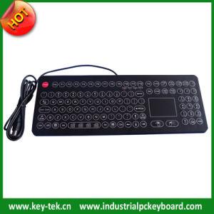IP68 Marine Keyboard with Ruggedized Touchpad
