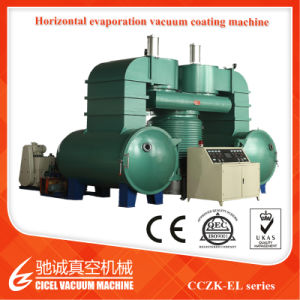 Horizontal Resin Beads Vacuum Coating Machine pictures & photos