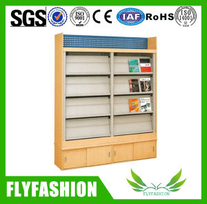 Cheap Library Furniture Wooden Bookshelf (ST-22) pictures & photos
