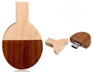 Wood Table Tennis USB Memory Flash Drive Ping′pang USB pictures & photos