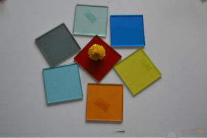 Coloured Laminated Glass (manufacturer) with SGS and CCC pictures & photos