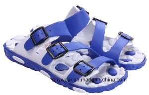Men EVA Injection Shoes Beach Slippers (815-9193) pictures & photos