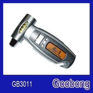 4 in 1 Car Multifunction Digital Tire Pressure Gauge (GB3011)