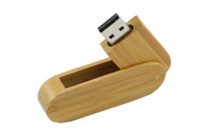 Twister Wooden USB Flash Drive with Logo pictures & photos