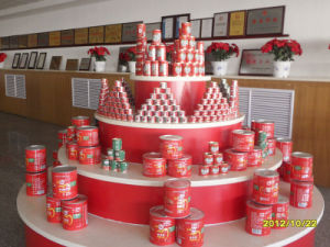 3000g 22%-24% Canned Tomato Paste pictures & photos