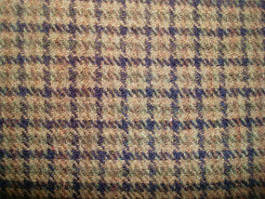 Wool Nylon Blenched Yarn Dyed Check Woolen Fabric pictures & photos