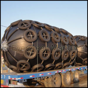 Evergreen Maritime 4.5 M X 9.0 M Yokohama Pneumatic/Inflatable Floating Marine Fender pictures & photos