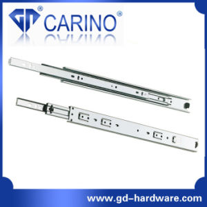 (3803) Top Quality Telescopic Drawer Channel /3-Fold Steel Ball Bearing Slide pictures & photos