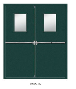 High Quality Fireproof Door (WX-FPS-106) pictures & photos