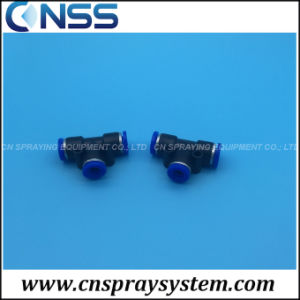Push Lock T Fittings Plastic T Connectors pictures & photos