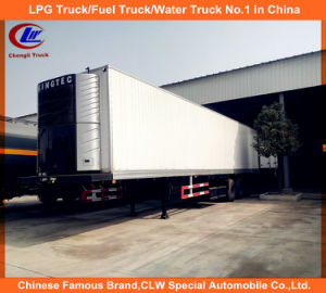 Tri-Axle 25~30t Refrigerated Container Semi-Trailer pictures & photos