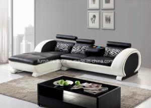 china home furniture round armrest leather sofa set (s014) - china