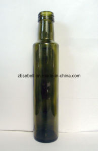250ml Round Green Glass Olive Oil Bottles with Height 231mm pictures & photos