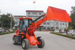 Everun Mini Telescopic Loader Er1500 with Standard Bucket for Sale pictures & photos