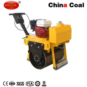 Zm-30 Walk Behind Gasoline Single Cylinder Vibrating Road Roller pictures & photos