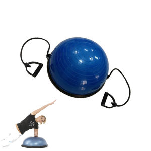 Popular Yoga Bosu Ball Exercise Equipment with Rope pictures & photos