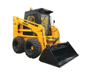 Mini Yn860 Skid Steer Loader pictures & photos