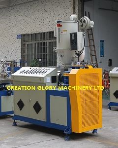 High Precision PC Diffuser Light Tube Extrusion Production Line pictures & photos