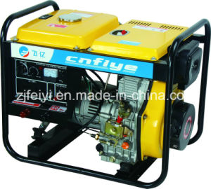 Fy-A0007 5kw Key Start Self-Excitation Open Diesel Generator