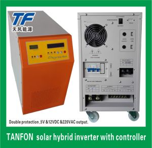 Portable Solar Hybrid Inverter off Grid 300W-10kw with 12V and 5V Output pictures & photos