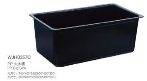 Labotatory Accessories, PP Big Sink (WJH0357C) pictures & photos