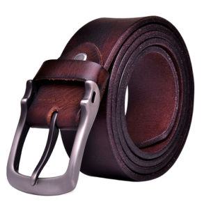 Factory Custom Men′s Leather Belt