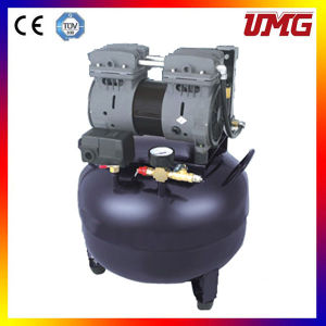 Dental Oilless Air Compressor with Steel Tank pictures & photos