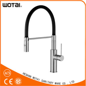 China High Quality Pull Down Kitchen Tap pictures & photos