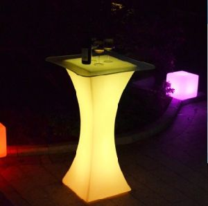 Rechargeable Colorful LED Bar Table for Events pictures & photos