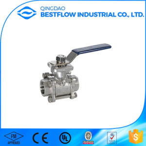 CF8m Stainless Steel 2PC Ball Valve pictures & photos