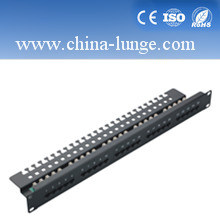 The New 24 Pairs Cat5e Patch Panel pictures & photos