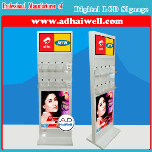 Android Advertising Media Player Digital Signage with Mobile Phone Free Charging Station pictures & photos