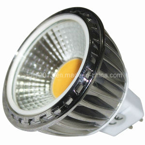 Dimmable MR16 COB LED 5W 90degree Spotlight Lamp pictures & photos