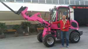 Pink Small Loader Hzm 908t pictures & photos