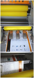 A4 or A3 Size Office Hot Cold Pouch Photo/Paper 3811 Laminating Machine pictures & photos