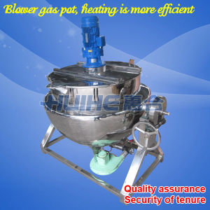 Stainless Steel Gas Heating Cooking Mixer (200L) pictures & photos