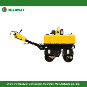 Walk Behind Vibratory Roller Hydraulic Steering pictures & photos