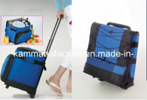 Rolling Cooler Bag Wheel Insulated Bag Trolley Thermal Bag pictures & photos