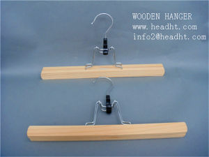 White Wooden Hair Extension Clamp Hanger pictures & photos