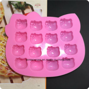 16 Silicone Tray Pop Cake Stick Mould, Hello Kitty Design pictures & photos