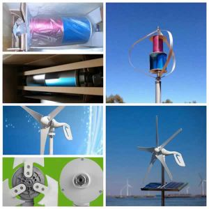 Silent Small Wind Generator for Home Use 600W Small Maglev Turbine (200W-5kw) pictures & photos