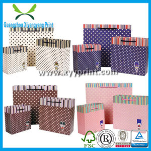Promotion Custom Brown Paper Shopping Carrier Bag pictures & photos